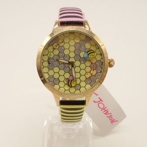 NWT BETSEY JOHNSON Busy As A Bee Watch 